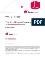 Art of Project Planning