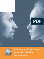 Studiul Bărbații și egalitatea de gen în Republica Moldova_Centrul de Drept al Femeilor