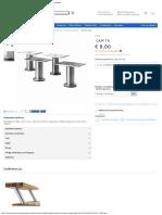 Capita Πόδι, Ανοξείδωτο Ατσάλι, Πόδια Επίπλων Μπάζες Κουζίνας Ikea Ελλάδα