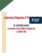Laboratory Diagnosis of Thalassemia Dr Vanaki