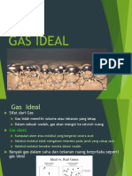 (Gas Ideal)