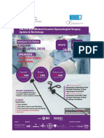 The 1st KSU Minimal Invasive Gynecological Surgery Update & Workshops