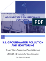 3.8. Groundwater Monitoring