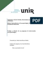 Trabajo Diseño de Un Programa de Intervencion de Neuropsicologia.doc 2