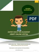 Zamanlar Özet Konu Anlatımı ve Özet Tablo - Zafer Hoca YDS Academy Özel Kaynak.pdf