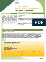 CIOS A101A Basic Keyboarding FA10 Syllabus