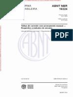 NBR16324 - Arquivo Para Impressão