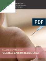Clinical Epidemiology MST