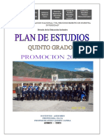Plan de Estudios 2016 Nivel Secundaria