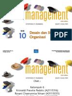 Chapter 10.Desain Dan Struktur Organisasi (Kelas F-Kelompok 6)