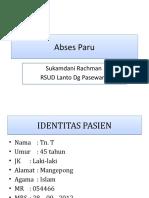 Presentasi Abses Paru