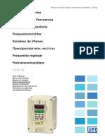 WEG Cfw 09 a Users Guide 0899.5694 4.4x Manual English