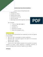Modelo de Relatório de Estágio Médio