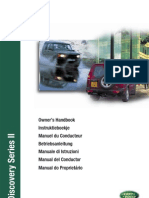 2001 Land Rover Discovery 2 Owners Manual