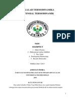 Bab 9 Potensial Termodinamik