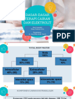 Terapi Cairan & Elektrolit