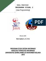 Modul Pemrograman Java Netbeans