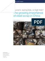 The Growing Importance of Steel Scrap in China