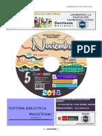 CALENDARIO CIVICO 5°-Noviembre-2018