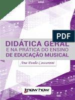 Didática Geral - Unidade 1