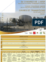 Programme Provisoire AFEP 2018_ 04 Juin