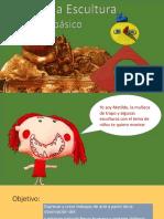 NIÑOS EN LA ESCULTURA 2° BASICO_ppt.ppt
