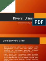 Diversi Urine