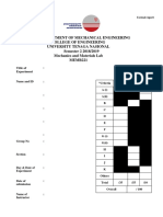 MEMB221 SEM 2 2018 2019 - Lab Report Cover Page Template