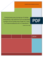 """DOCUMENTO ORIENTACIONES PARA LA TRANSVERSALIZACIÃ""""N COMUNITARIA.pdf"""