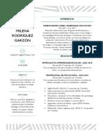 Curriculum Psicóloga Educativa Adriana Milena Rodríguez Garzón