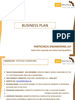 Business Plan Pertecnica