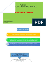 Presentation Curriculum