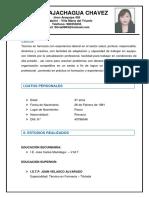 CV FIORELLA 2233333333