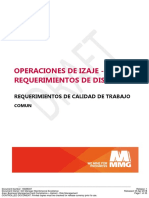 MMG Requisitos de Calidad Del Trabajo - Operaciones de Elevación - Requisitos de Diseño - 16688307