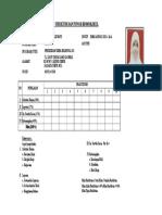 Form Pendaftaran Praktikum Struktur Dan Fungsi Biomolekul