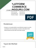 Platform E- Commerce Ruangguru