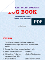 Verifikasi Isian Borang Log Book