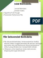 XI File Sekuensial Berindeks
