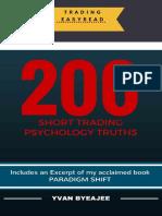 200 Short Trading Psychology Truths - YVAN BYEAJEE.pdf