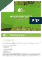 Plan Nacional de Semilla 2016 2019