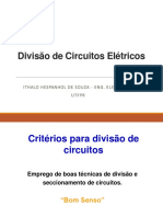 3 - Eletrotécnica a - Dimensionamento Condutores