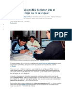 paternidad 01 modificaciones al codigo civil