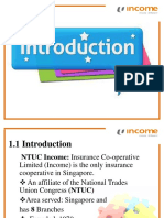 Mis for Ntuc Income