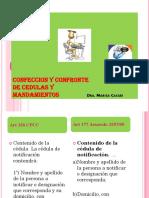 CONFECCION DE CEDULAS Y MANDAMIENTOS BUENOS AIRES