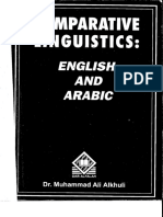 Comparative Linguistics in English and Arabic