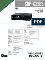 CDP-X33ES
