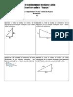 Ejercicios Del Teorema de Pitágoras_Editado