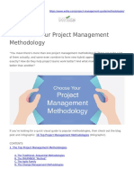 Methodologies - Project Management Guide