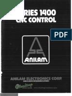 Anilam Series 1400 CNC Control Brochure