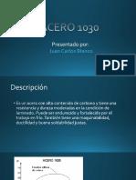 Acero 1030 - Juan Carlos Blanco.pptx